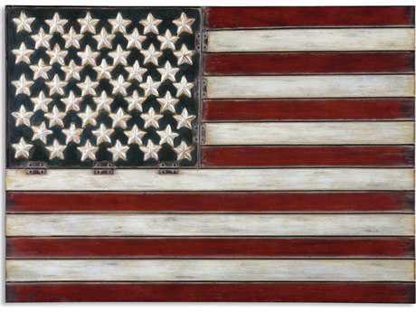 Uttermost American Flag Metal Wall Art UT13480