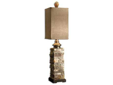Uttermost Andean Layered Stone Buffet Lamp UT290931