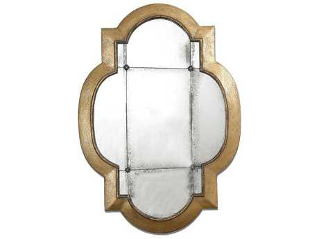 Uttermost Andorra 29 x 41 Gold Leaf Wall Mirror