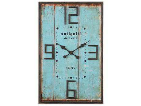 Uttermost Antiquite Distressed Wall Clock UT06425