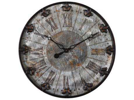 Uttermost Artemis Antique Wall Clock UT06643