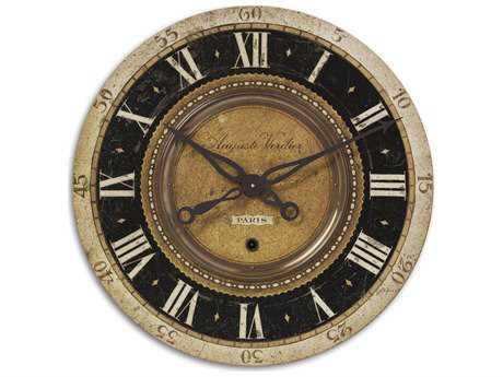 Uttermost Auguste Verdier 27 inch Wall Clock UT06028
