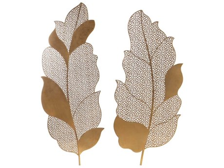Uttermost Autumn Lace Metal Wall Art (Set of 2)