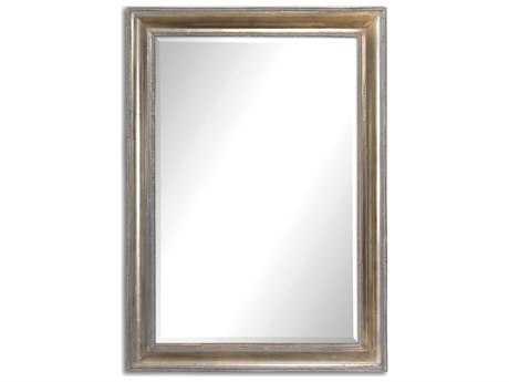 Uttermost Avelina 25 x 35 Oxidized Silver Wall Mirror UT12895
