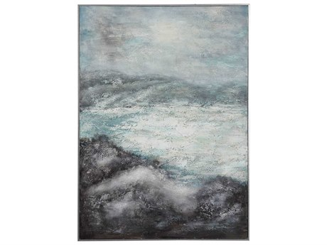 Uttermost Azure Altitudes Canvas Wall Art UT31416
