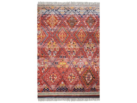 Uttermost Balgha Red Rectangular Area Rug UT70029