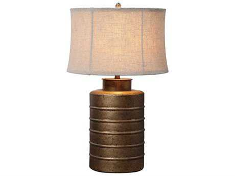 Uttermost Bamiro Antique Gold Leaf Table Lamp