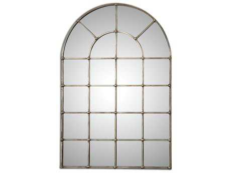 Uttermost Barwell Arch 30 x 44 Window Wall Mirror UT12875