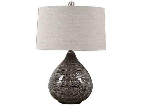 Uttermost Batova Smoke Gray Table Lamp UT270571