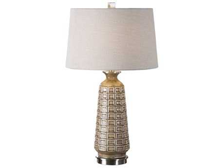 Uttermost Belser Mushroom Brown Table Lamp UT275291