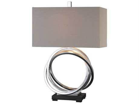 Uttermost Billy Moon Soroca Silver Rings Lamp