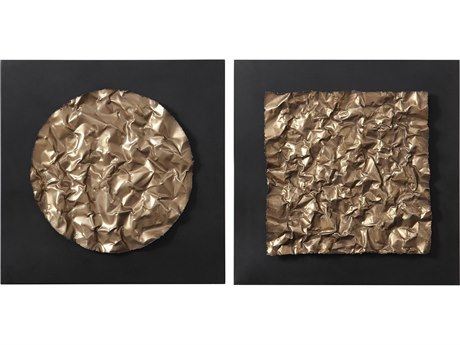Uttermost Boaz Metal Wall Art (Set of 2)
