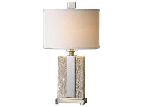 Uttermost Bonea Stone Ivory Table Lamp UT265081