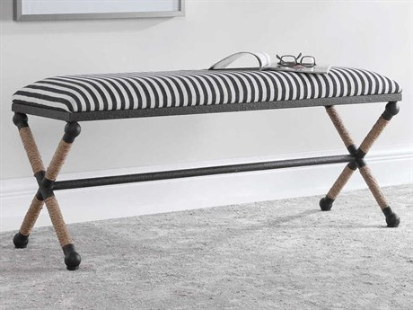 Uttermost Braddock Rope Small Accent Stool Ut23228