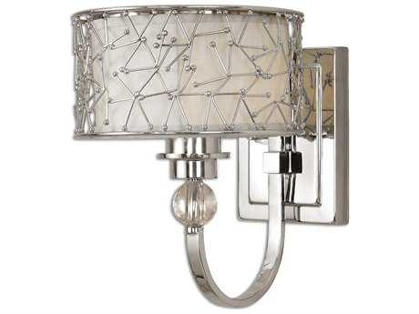 Uttermost Brandon Nickel Plated Wall Sconce