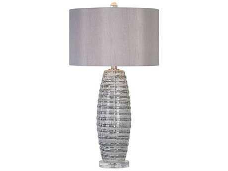 Uttermost Brescia Smoke Gray Table Lamp