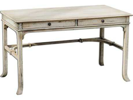 Uttermost Bridgely 52 x 27 Rectangular Aged Writing Desk UT25602