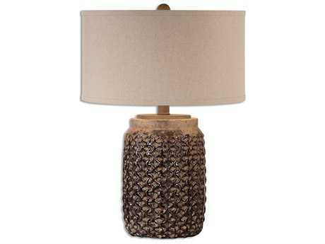 Uttermost Bucciano Textured Ceramic Table Lamp UT266121