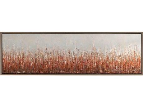 Uttermost Burning Fields Canvas Wall Art UT34398