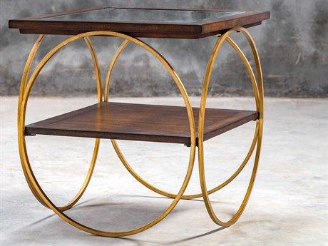Uttermost Calissa 24'' Wide Square End Table UT25401