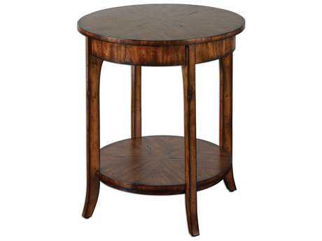 Uttermost Carmel 22 Round Lamp Table