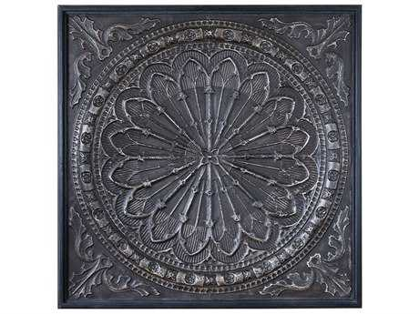 Uttermost Carolyn Kinder Ottavio Charcoal Brown Wall Art