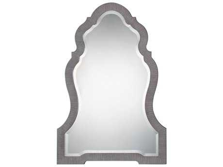 Uttermost Carroll Aged Gray 30''W x 43''H Arch Wall Mirror UT09232