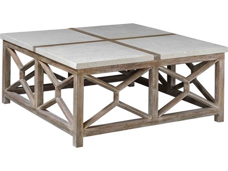 Uttermost Catali 40'' Wide Square Coffee Table UT25885