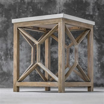 Uttermost Catali 22'' Wide Square End Table UT25886