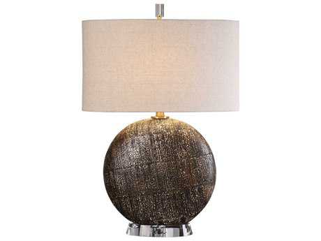 Uttermost Chalandri Rust Bronze Table Lamp UT272681