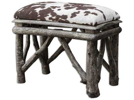 Uttermost Chavi Driftwood Small Accent Stool
