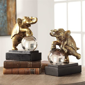 Uttermost Circus Act Bookend UT18580
