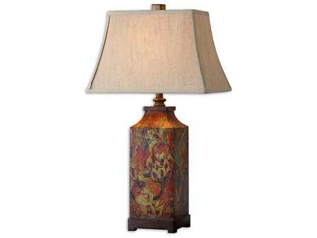 Uttermost Colorful Flowers Table Lamp UT27678