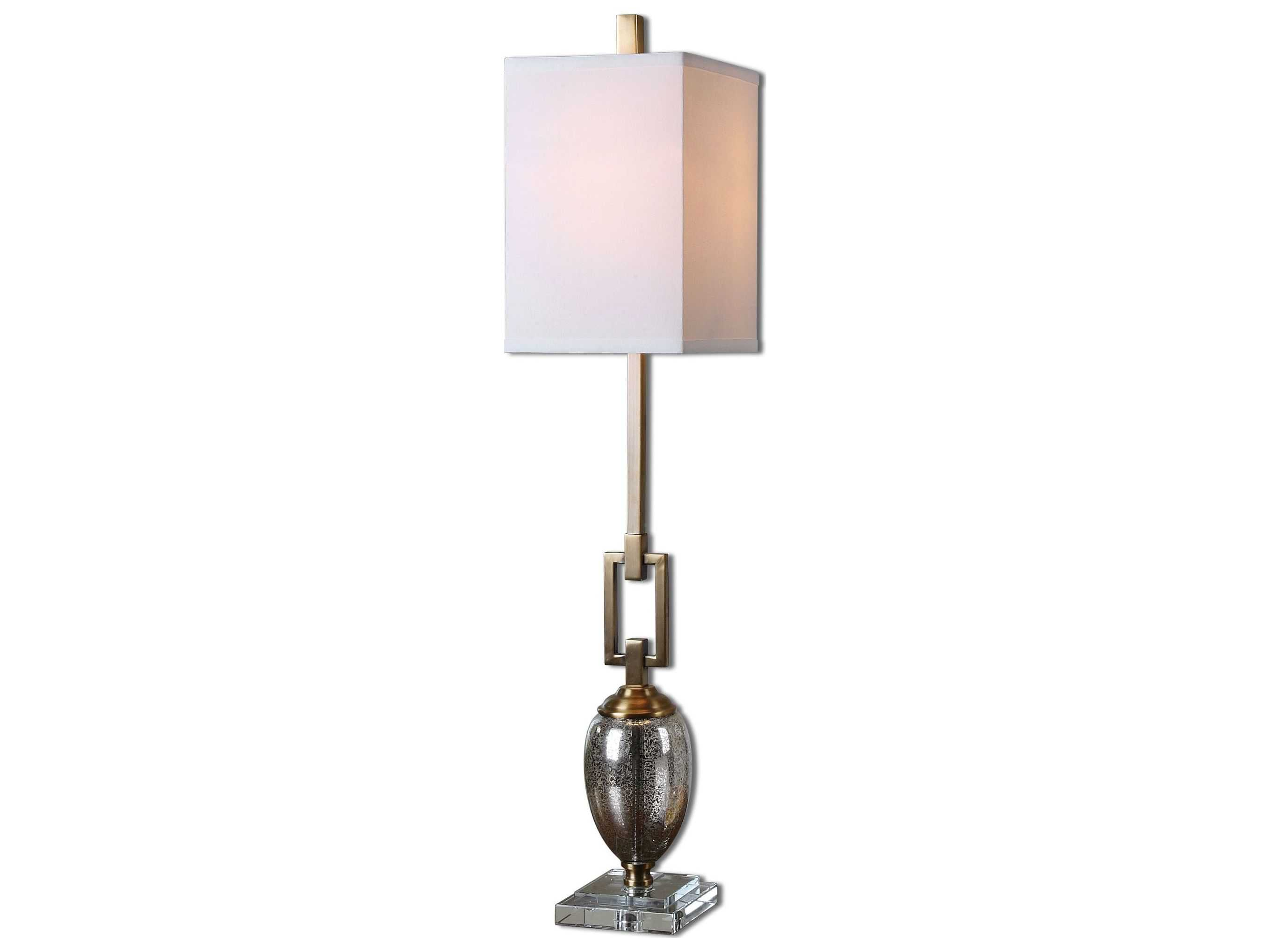 Uttermost Copeland Mercury Glass Buffet Lamp Ut293381