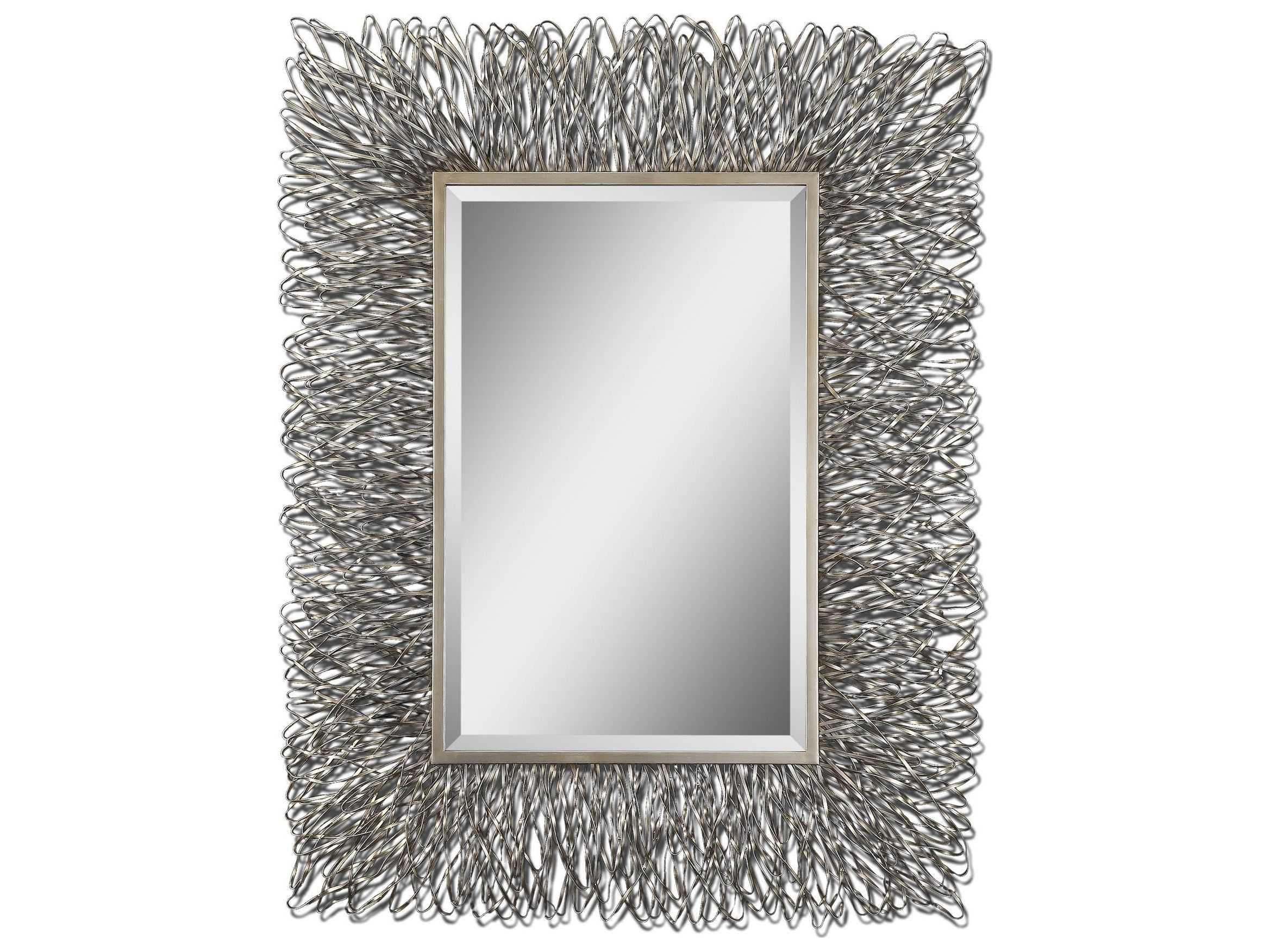 Uttermost Corbis 44 X 56 Decorative Metal Wall Mirror Ut07627