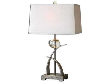 Uttermost Cortlandt Curved Metal Table Lamp UT27746