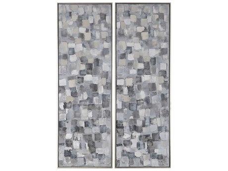 Uttermost Cubist Canvas Wall Art UT36054