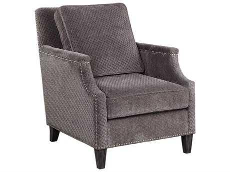 Uttermost Dallen Pewter Gray Accent Chair UT23312