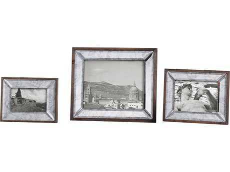 Uttermost Daria Antique Mirror Photo Frames (3 Piece Set) UT18567