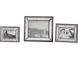 Daria Antique Mirror Photo Frames (3 Piece Set)