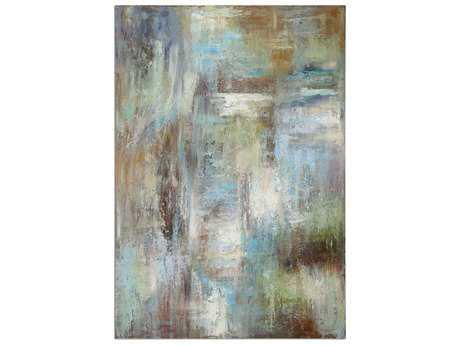 Uttermost Dewdrops Modern Wall Art UT32224