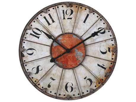 Uttermost Ellsworth 29 inch Wall Clock UT06664
