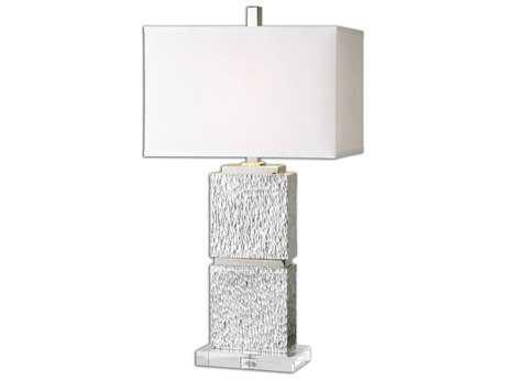 Uttermost Eumelia Silver Table Lamp UT261821