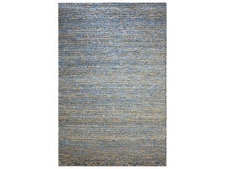 Uttermost Euston Natural Blue Rectangular Area Rug UT71089