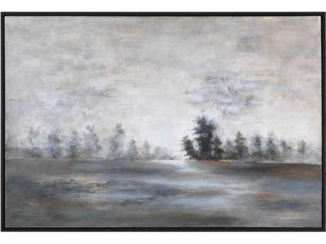 Uttermost Evening Mist Landscape Art UT35344