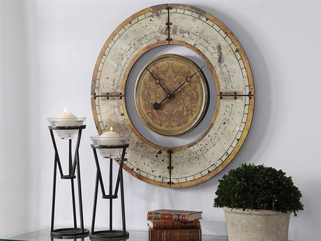 Uttermost Ezekiel Clock UT06453