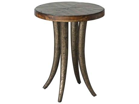 Uttermost Ezra 20'' Wide Round End Table UT25341