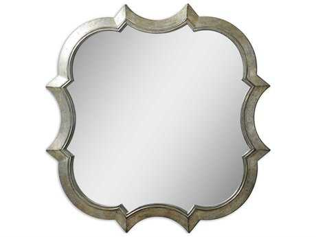 Uttermost Farista 42 x 42 Antique Silver Wall Mirror UT09520