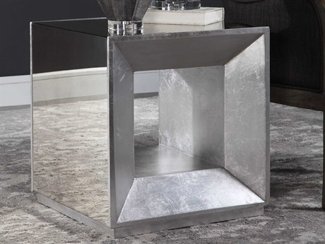 Uttermost Flair 20'' Wide Square End Table