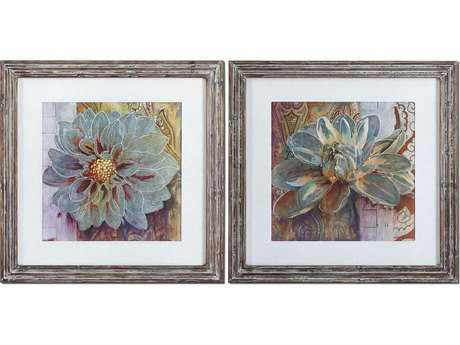 Uttermost Sublime Truth Floral Wall Art (2 Piece Set) UT34036